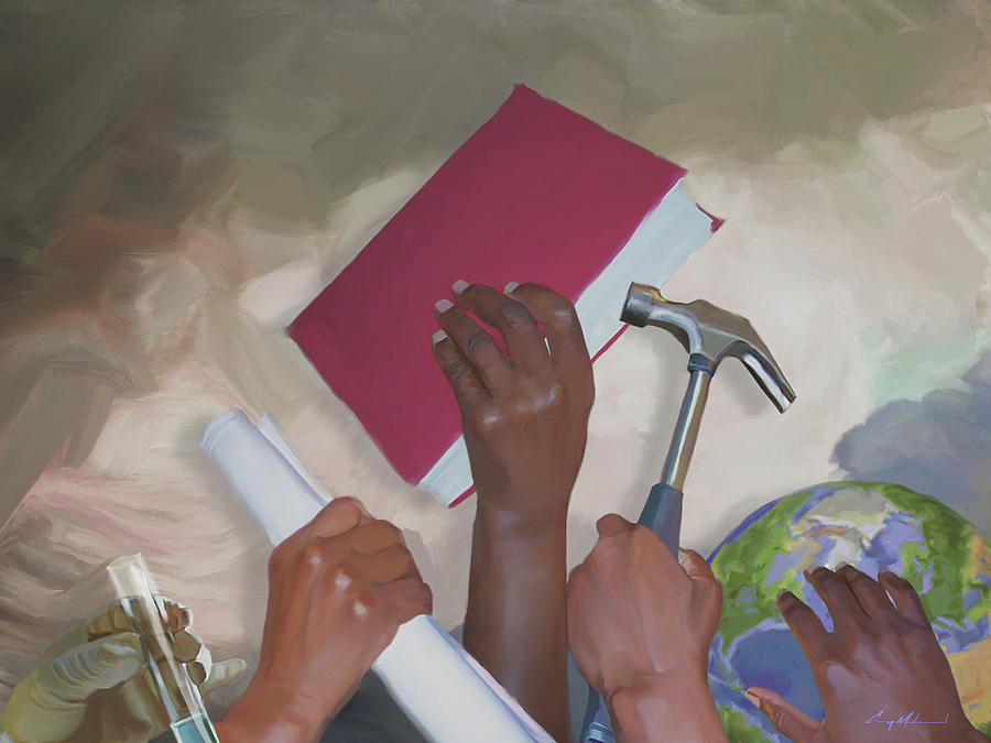 Rebuild Painting - Pick Up Your... by Carey Muhammad