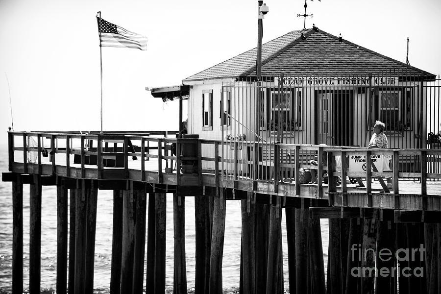 Pier Photograph - Pier View by John Rizzuto