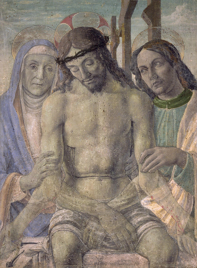 Florentine Painting - Pieta  by Italian School