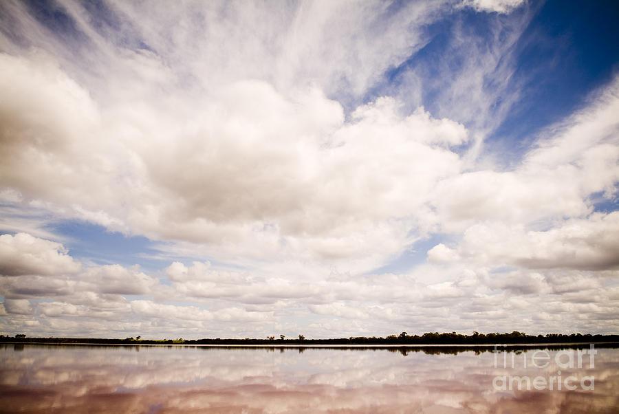 Australia Photograph - Pink Lake by Tim Hester