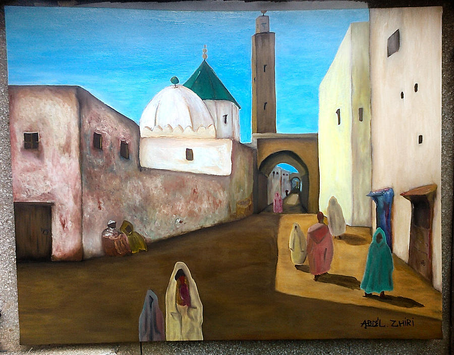 PNT Painting by Abdel  Zhiri