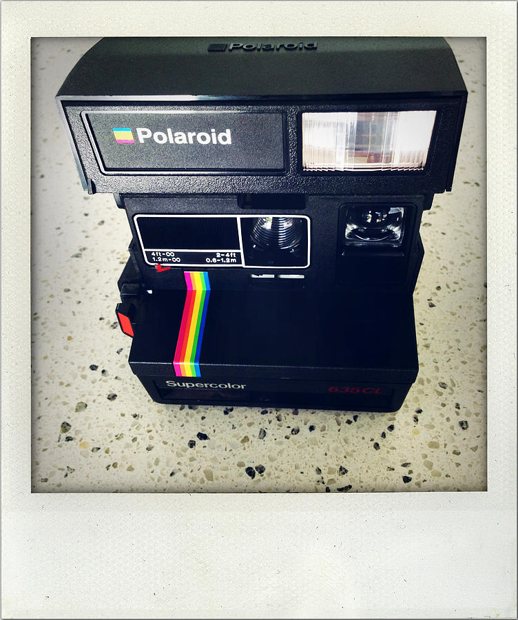 Nobody Photograph - Polaroid Camera.  by Les Cunliffe