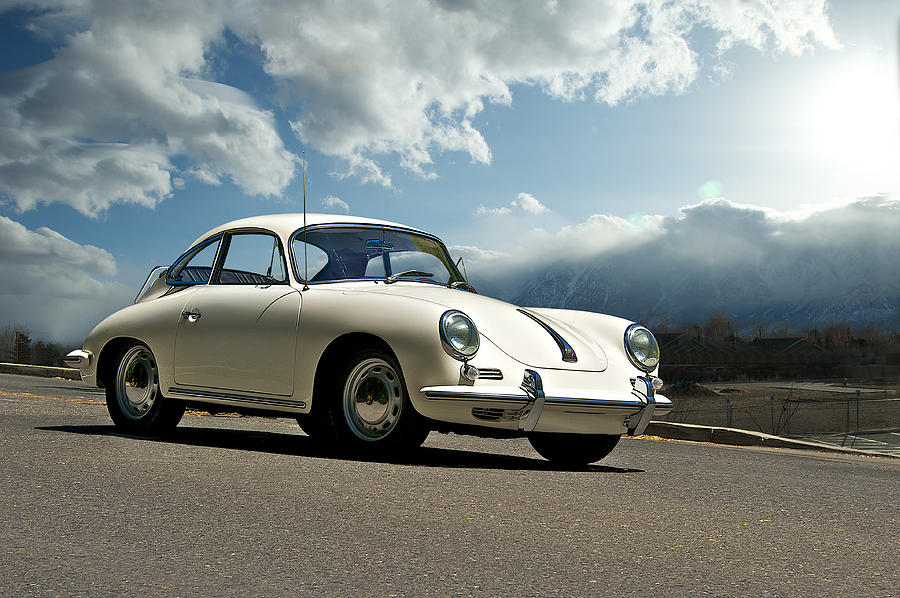 Auto Photograph - Porsche 356 Coupe by Dave Koontz