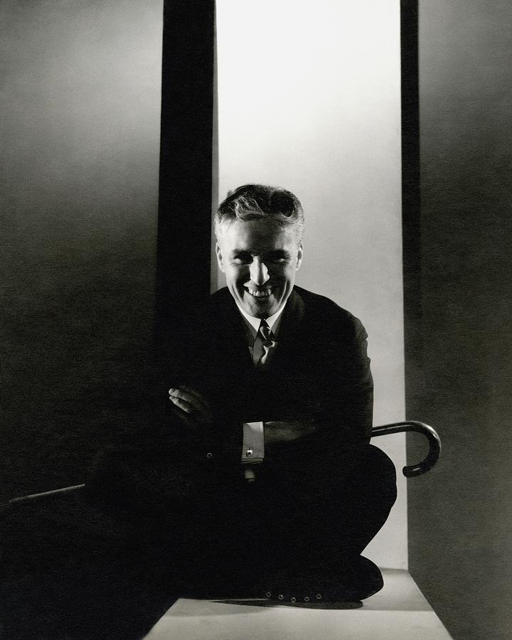 Portrait Of Charlie Chaplin Photograph by Edward Steichen