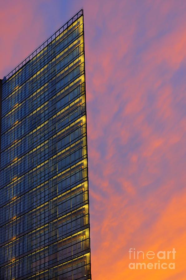Renzo Photograph - Potsdamerplatz Berlin by Colin Woods