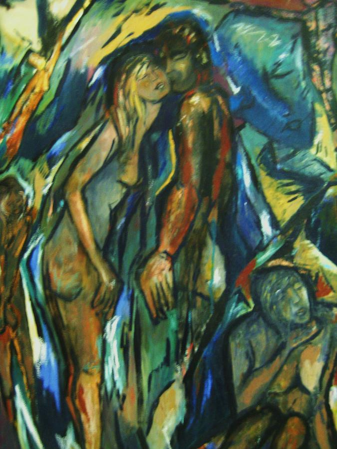 Figure Painting - Prelude by Dawn Fisher