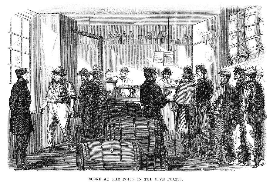 1864 Painting - Presidential Election, 1864 by Granger
