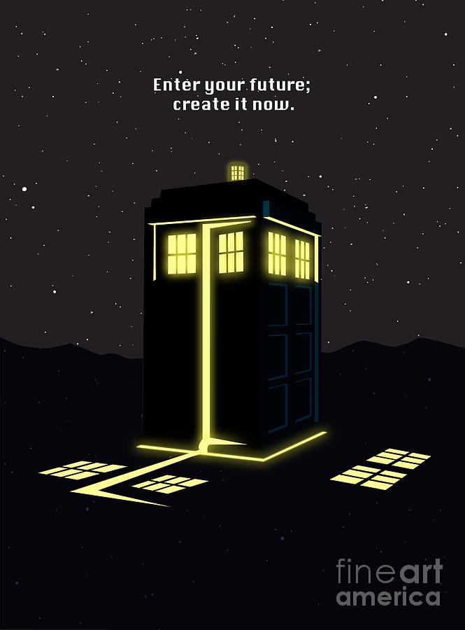 Dr Who Painting - Print by Sassan Filsoof