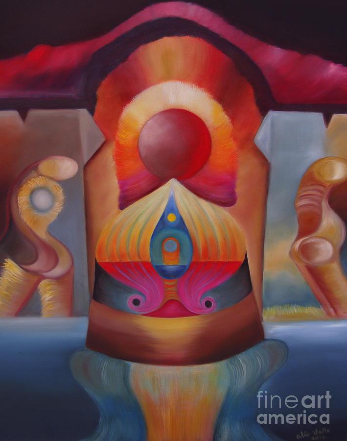 Space Painting - Puerta Solar by Aliosha Valle