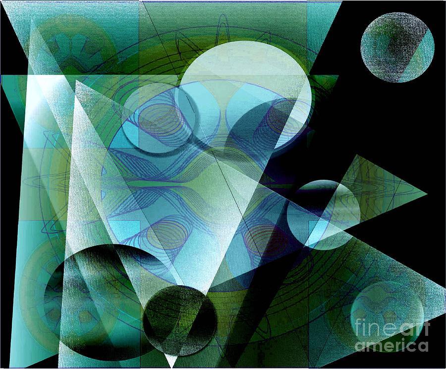 Digital Digital Art - Quest by Iris Gelbart