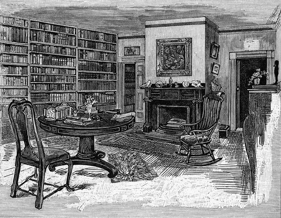 emerson drawing ralph waldo emerson american writers by mary evans picture library