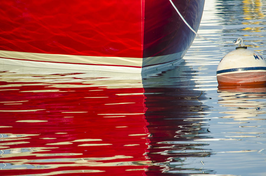 Red Boat by Steve Myrick