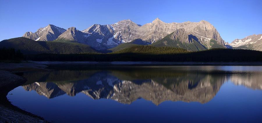 Reflected Upper Lakes Calm - Kananaskis, Alberta Photograph