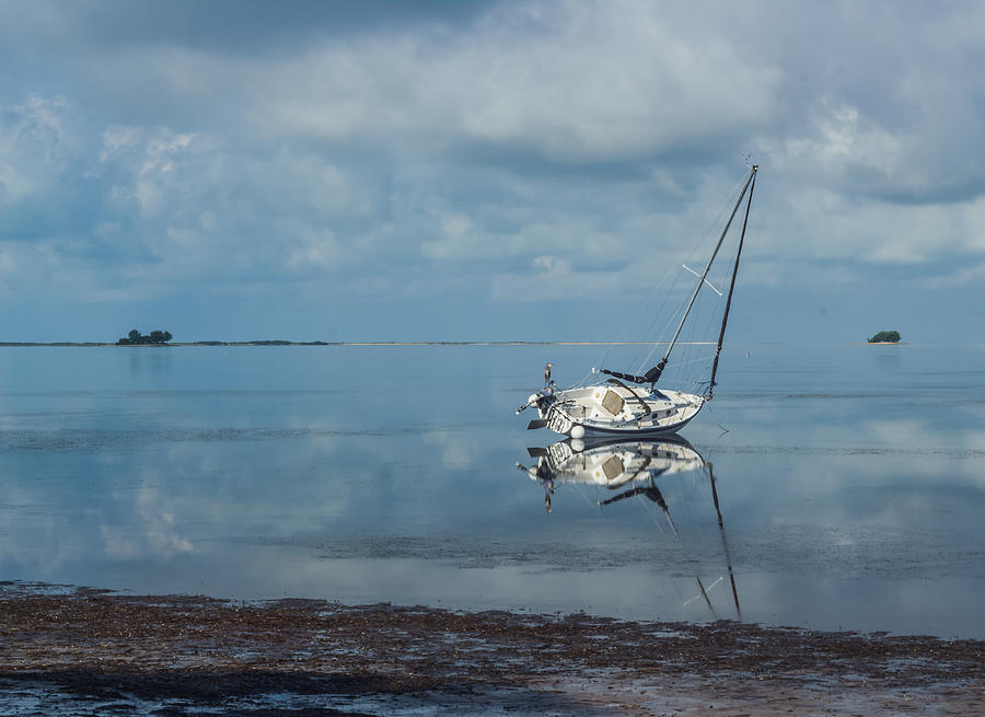 Ocean Photograph - Reflections by Jane Luxton