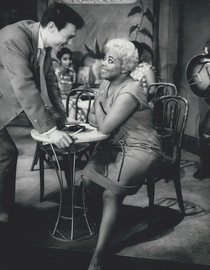 Retro Photograph - Rehearsing New Negro Musical Comedy by Retro Images Archive