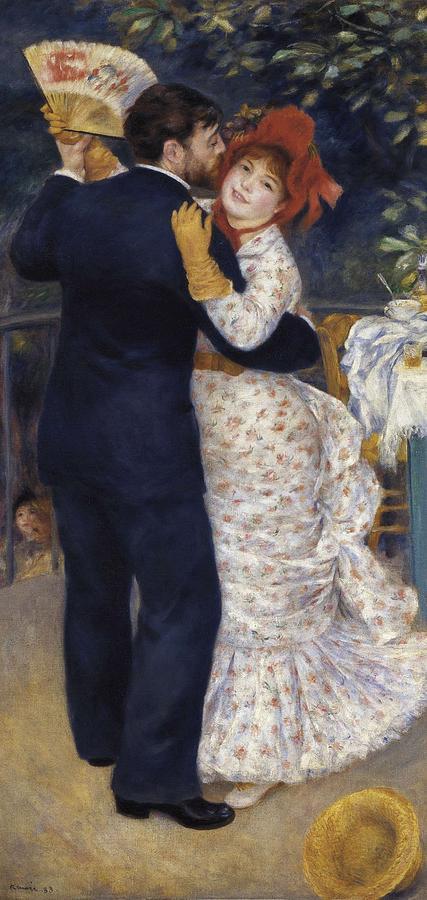 Vertical Photograph - Renoir, Pierre-auguste 1841-1919. Dance by Everett