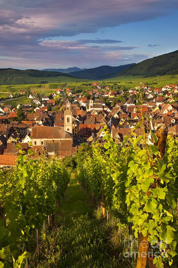 Riquewihr Photograph - Riquewihr Alsace by Brian Jannsen