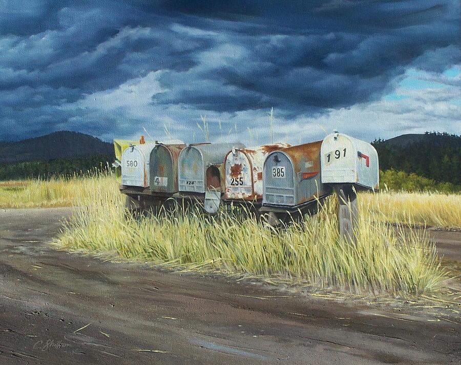Roadside Royalty Painting