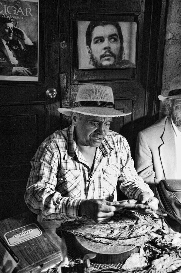Cigar Photograph - Rolling Cuban Cigars by Hugh Smith