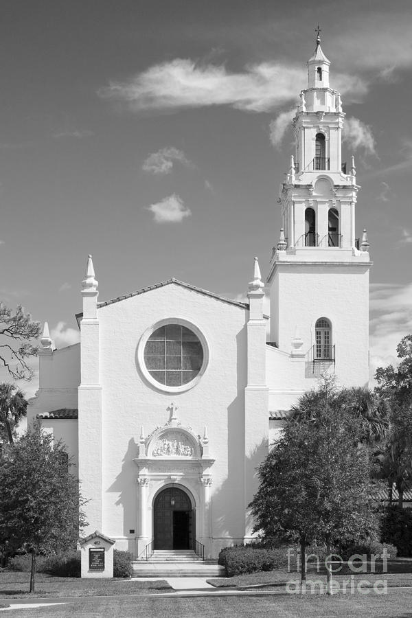 Knowles Photograph - Rollins College Knowles Memorial Chapel  by University Icons
