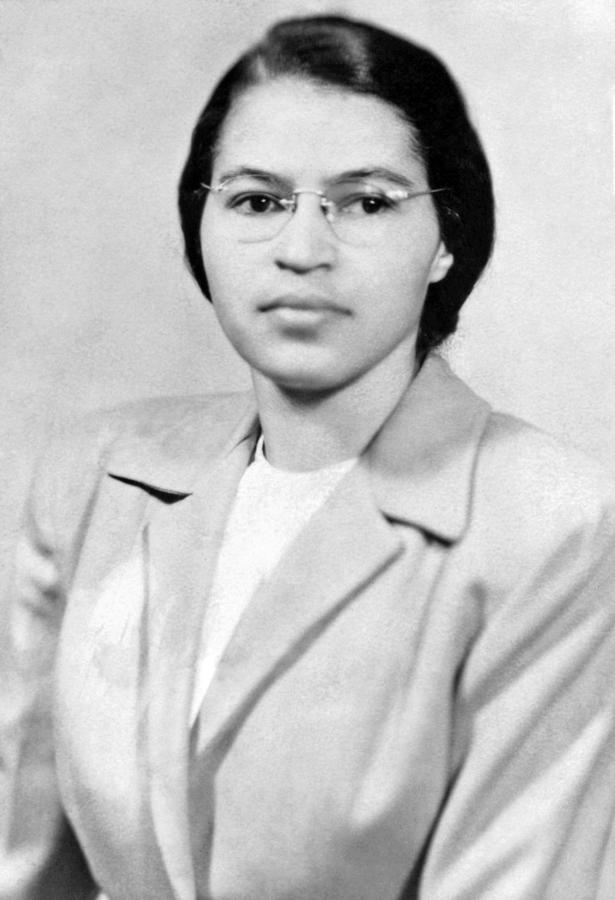 1950s Photograph - Rosa Parks by Granger