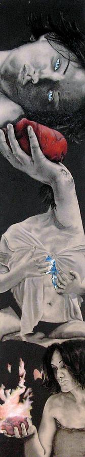 Figure Drawing - Sacrifices by Corina Bishop