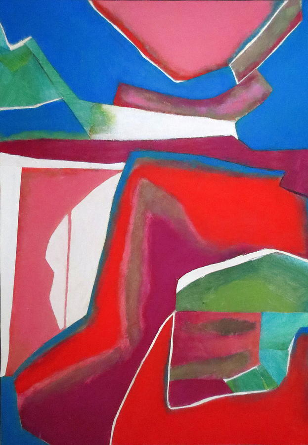 Abstract Expressionism Mixed Media - Salsa by Diane Fine