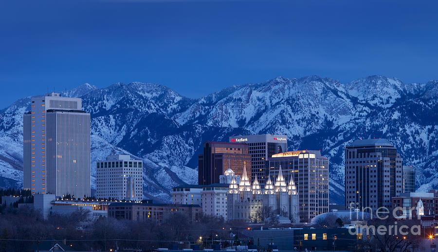 America Photograph - Salt Lake City by Brian Jannsen