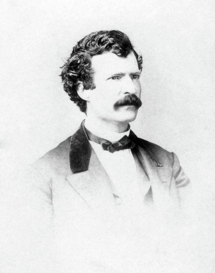 1860 Photograph - Samuel Langhorne Clemens (1835-1910) by Granger