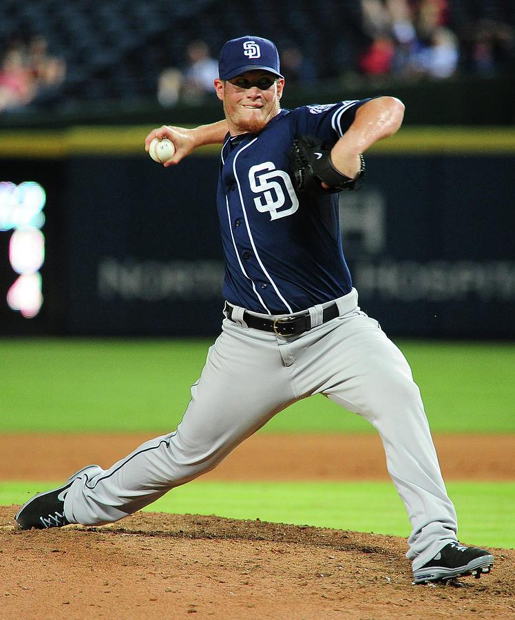 San Diego Padres V Atlanta Braves 2 Photograph by Scott Cunningham