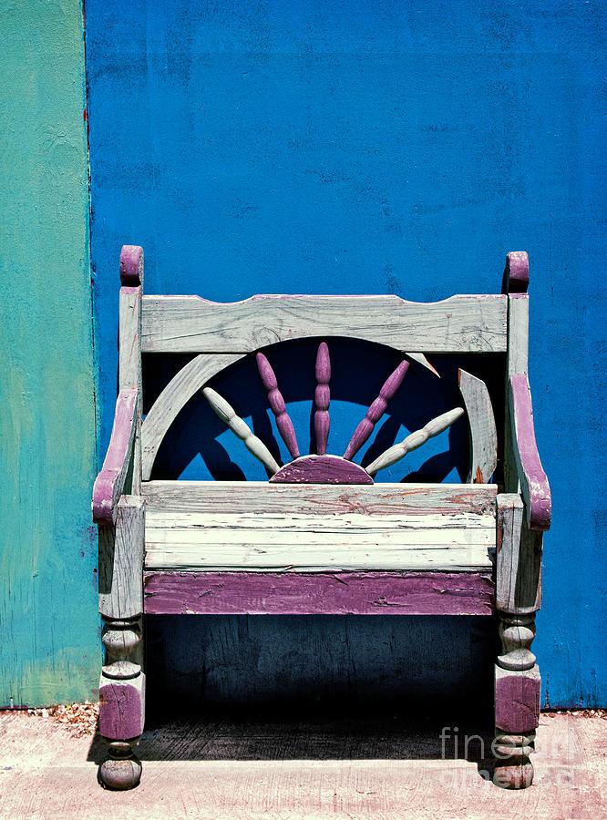 Santa Fe Chair Photograph - Santa Fe Chair by Elena Nosyreva