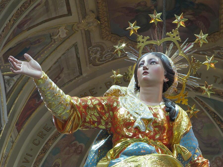Santa Maria Assunta Photograph - Santa Maria by Richard Faenza