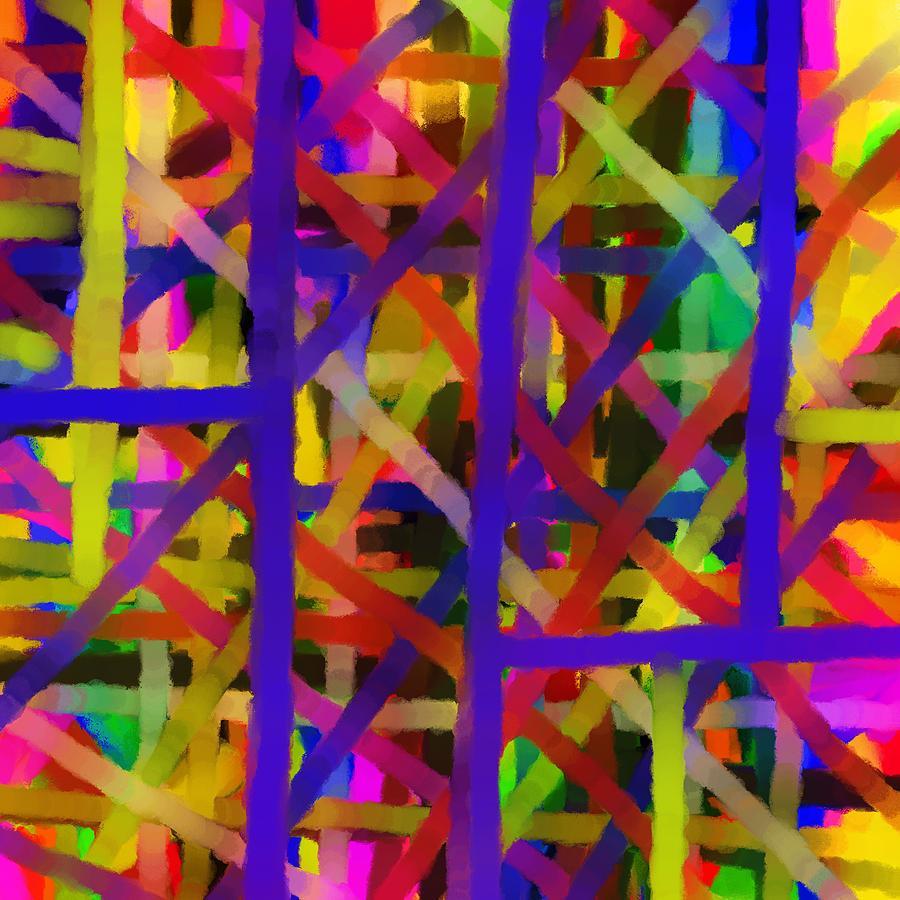 Abstract Painting - Schreien by Sir Josef - Social Critic -  Maha Art
