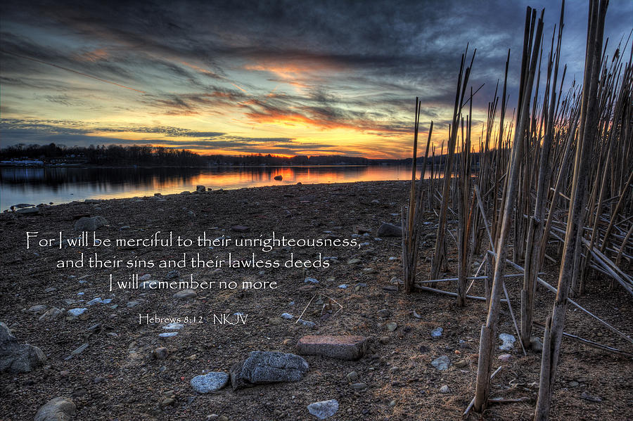 Bible Verse Photograph - Scripture Photo by David Dufresne