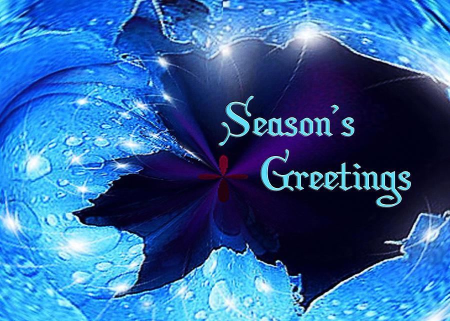 Paula Mixed Media - Seasons Greetings by Paula Ayers