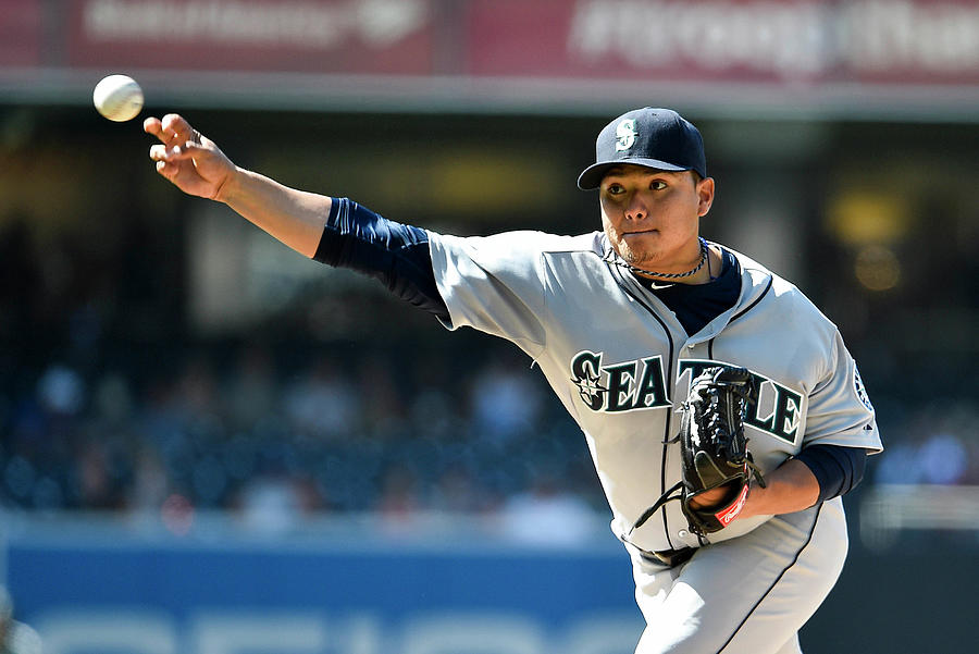 Seattle Mariners V San Diego Padres Photograph by Denis Poroy