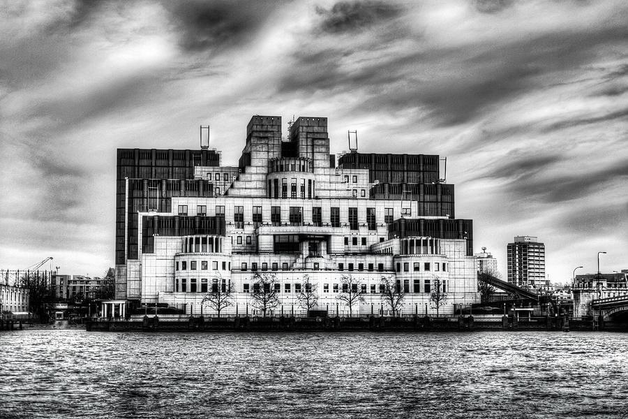 Spy Photograph - Secret Service Building London by David Pyatt