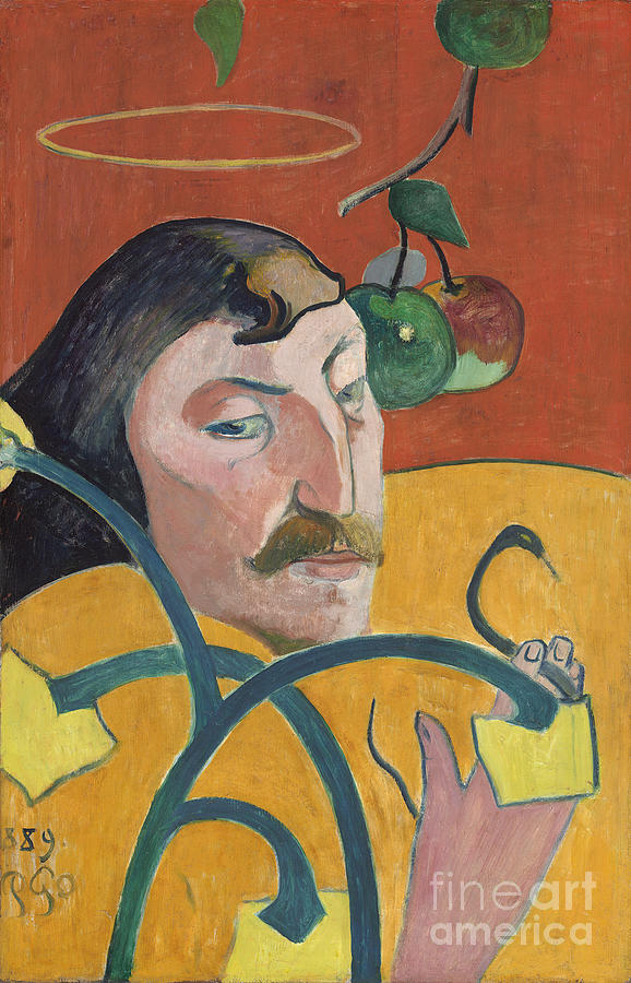 Impressionism Painting - Self Portrait by Paul Gauguin
