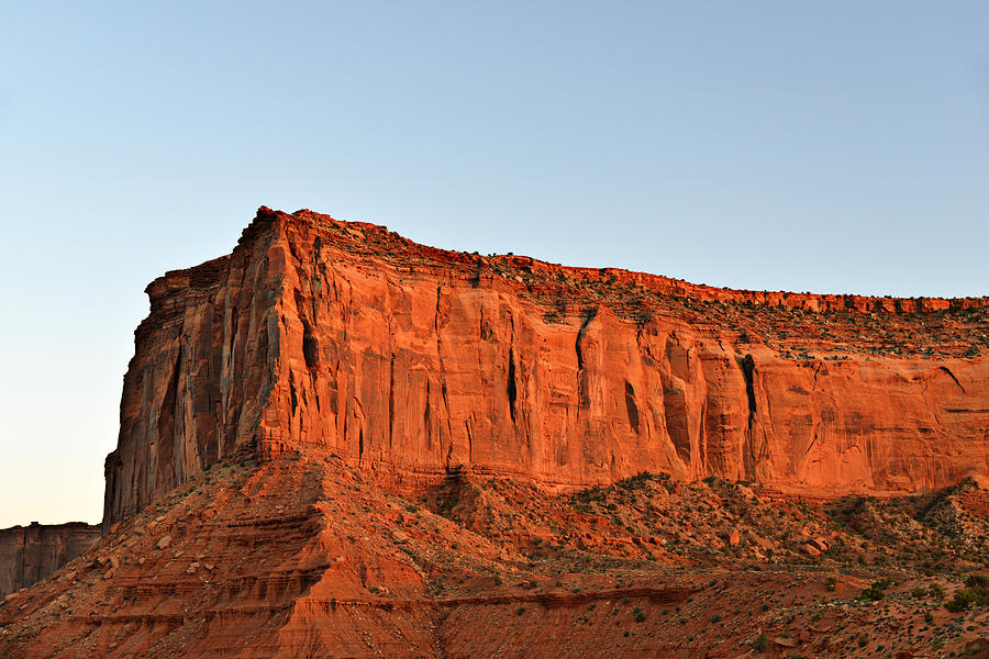 Monument Photograph - Sentinel Mesa Monument Valley by Christine Till