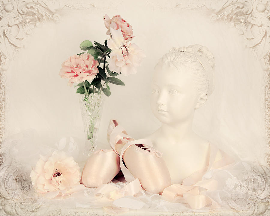 Ballet Photograph - Shabby Chic Ballet by Theresa Tahara