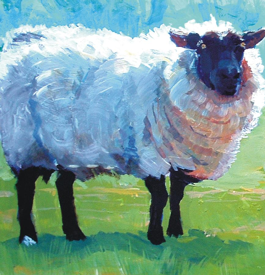 How To Paint Sheep Acrylics