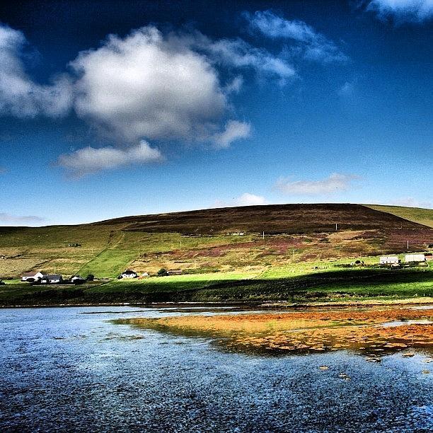 Landscape Photograph - Shetland Islands by Luisa Azzolini