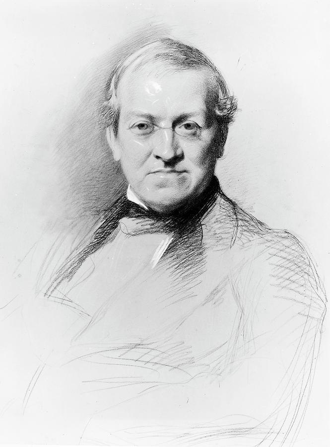 1868 Drawing - Sir Charles Wheatstone (1802-1875) by Granger