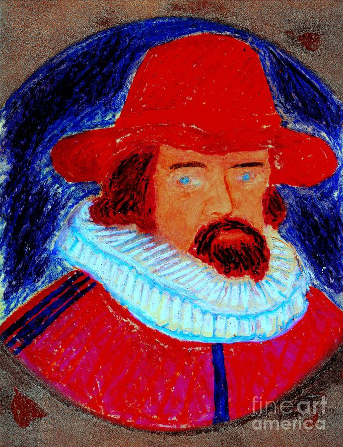 Sir Francis Bacon Painting - Sir Francis Bacon by Richard W Linford