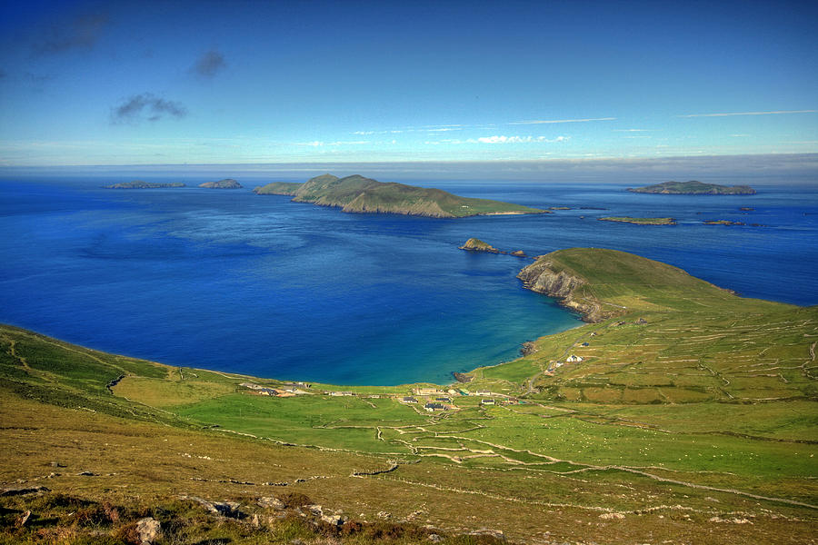 Blasket Islands Photograph - Slea Head View by John Quinn