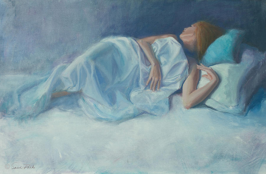 Figurative Painting - Slumber by Sarah Parks
