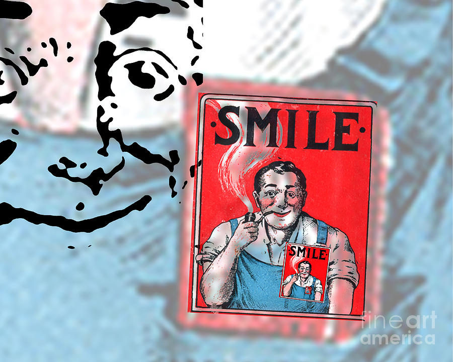 Edward Fielding Digital Art - Smile by Edward Fielding