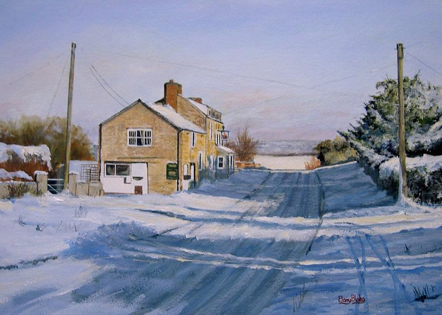 Snow at the Navigation by Barry BLAKE