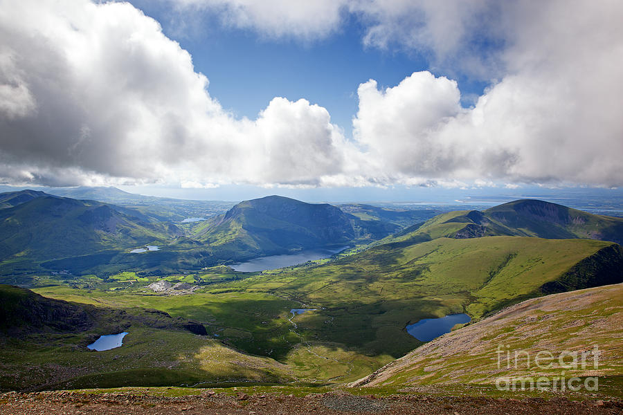 Snowdonia Photograph - Snowdonia by Jane Rix
