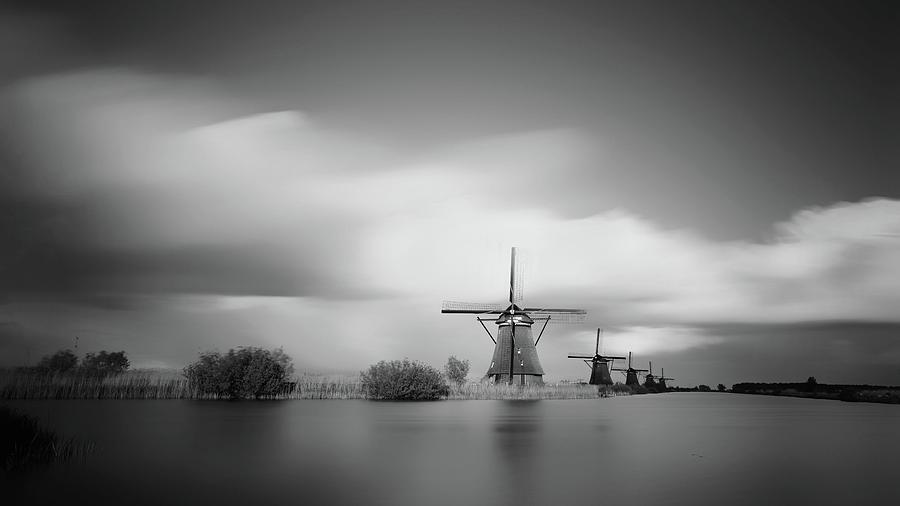 Kinderdijk Photograph - So Dutch by Saskia Dingemans